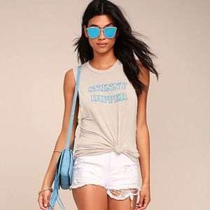 Project Social T Skinny Dipper Graphic Muscle Tee